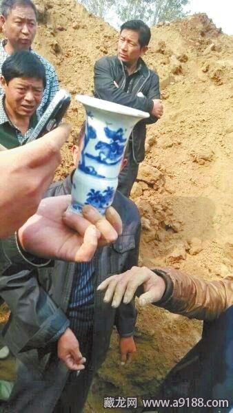 睢县发现明古墓遗存石碑瓷片 墓 ...