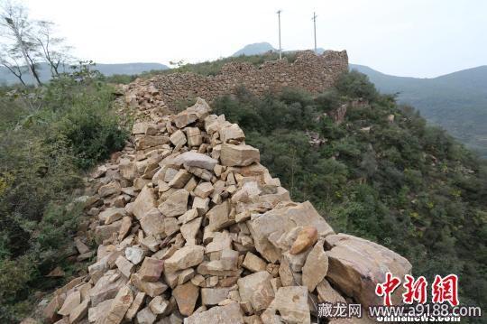 村民取石建房致2公里楚长城破坏 ...