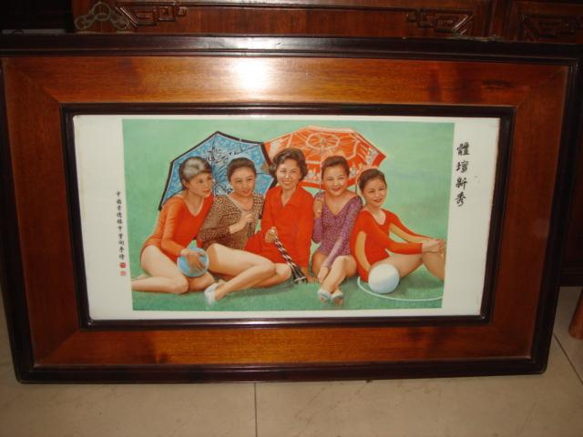 东南亚一些国家   油画   先生诞生一百周年绘制的鲁迅像被中